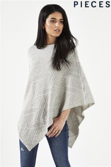 Pieces Wool Poncho