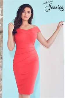 Jessica Wright Bardot Bodycon Dress