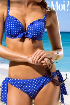 Pour Moi Hot Spots Tie Bikini Bottom