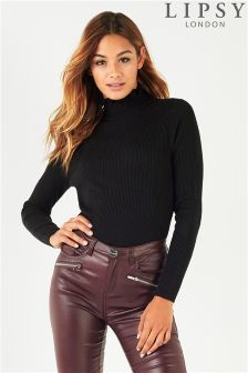 Lipsy Frill Turtle Neck Jumper