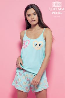 Chelsea Peers Happy Vest PJ Set