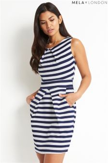 Mela London Nautical Stripe Dress