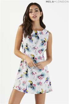 Mela London Flower Print Dress