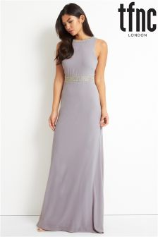 tfnc Low V Back Maxi Dress