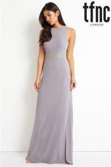 tfnc Low V Back Maxi Dress