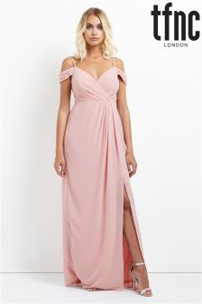 tfnc Front Bandeau Maxi Dress