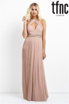 tfnc Pleated Maxi Dress