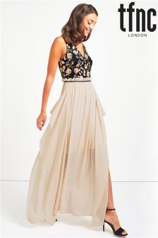 tfnc Embroidery Maxi Dress
