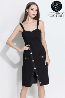 Comino Couture Midi Button Dress
