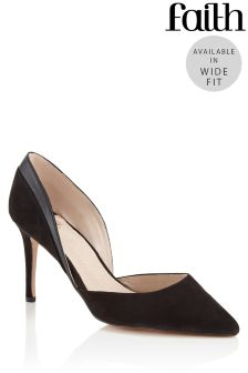 Faith Wide Fit Court Shoes