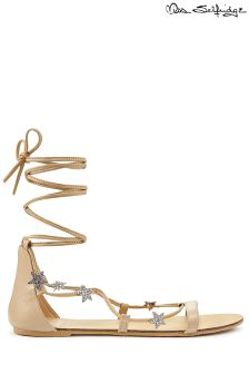 Miss Selfridge Tie Up Sandals