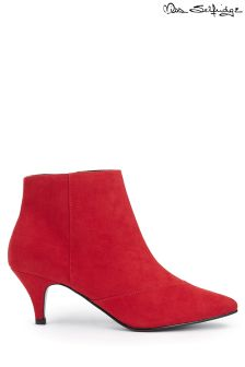 Miss Selfridge Kitten Heel Boots