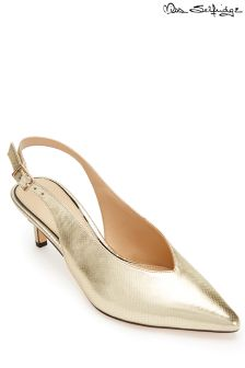 Miss Selfridge Kitten Heel Court Shoe