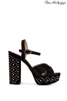 Miss Selfridge Crown Stud Platform Heels