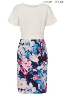Paper Dolls Rose Bloom 2 In 1 Bodycon Dress