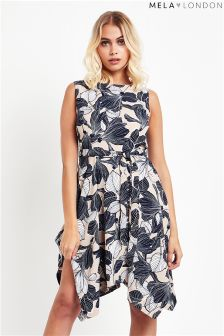 Mela London Floral Print Shift Dress