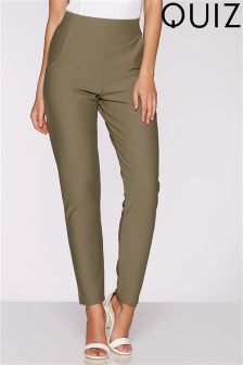 Quiz Fitted Trousers