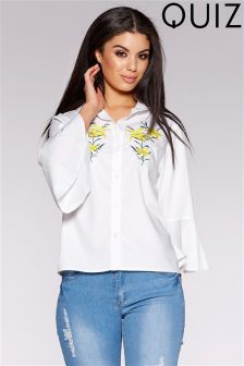 Quiz Embroidered Shirt
