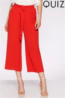 Quiz Culotte Trousers
