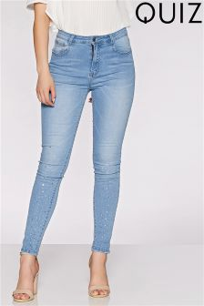 Quiz Diamanté Jeans