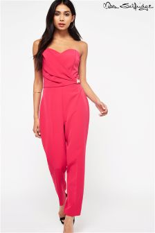Miss Selfridge Bandeau Jumpsuit