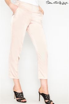 Miss Selfridge Satin Suit Pin Tuck Trousers