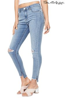 Miss Selfridge Distressed Skinny Fit Jeans