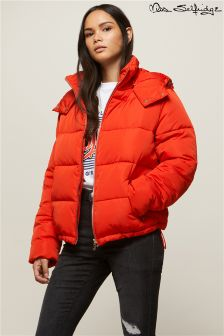 Miss Selfridge Hooded Oversized Padded Jacket