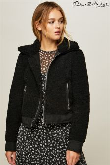 Miss Selfridge Teddy Trucker Jacket