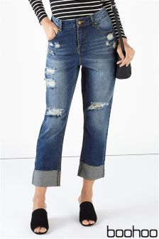Buy Women's Boyfriend Jeans from the Next UK online shop