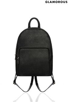 Glamorous Cross Hatch Mini Backpack