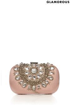 Glamorous Jewel Encrusted Clutch Bag