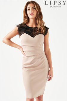 Lipsy Eyelash Bodycon Dress