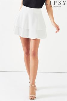Lipsy Frill Hem Mini Skirt