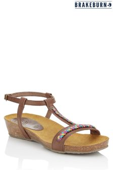 Brakeburn Boho Leather Sandals