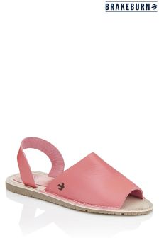 Brakeburn Flat Leather Sandals