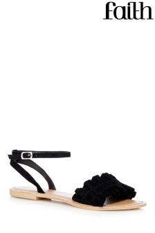 Faith Ruffle Sandals