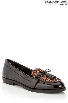 Head Over Heels Leopard Print Loafers