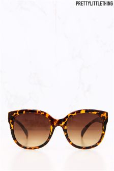 PrettyLittleThing Leopord Print Sunglasses