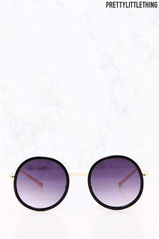 PrettyLittleThing Rounded Lense Sunglasses