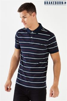 Brakeburn Yarn Dye Polo T-Shirt