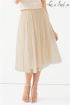 Lace & Beads Prom Skirt