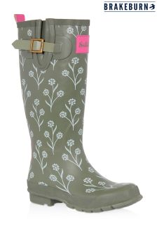 Brakeburn Green Leaf Wellies