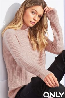 Only High Neck Knitted Jumper