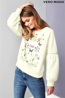 Vero Moda Embroidered Sweater