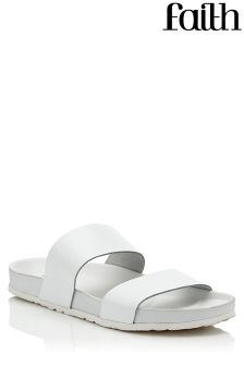 Faith Bright Slide Sandals