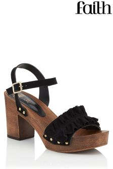 Faith Ruffle Clogs