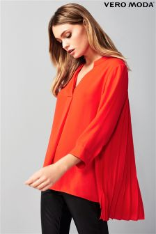 Vero Moda V neck Long Sleeve Blouse