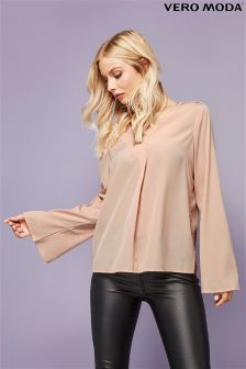 Vero Moda Flared Sleeve Blouse