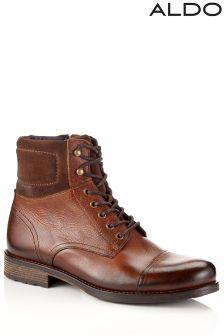 Aldo Lace Up Ankle Boots